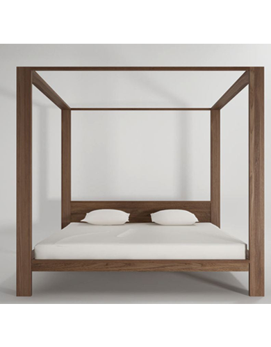 Dawson Canopy King Size Bed
