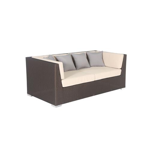 Garden Wicker Patio Berlin 2- Seat Sofa