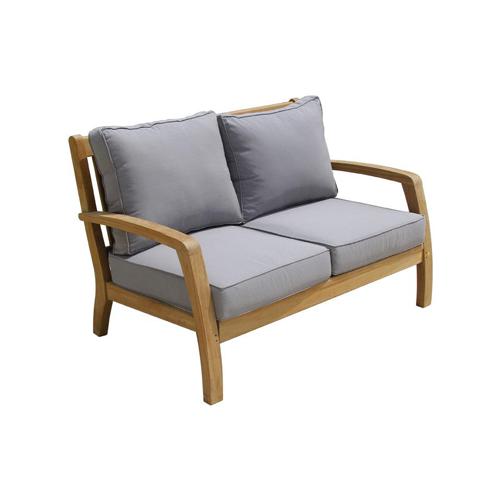 Teak Outdoor Corona Sofa 2 Seater Scade Concepts