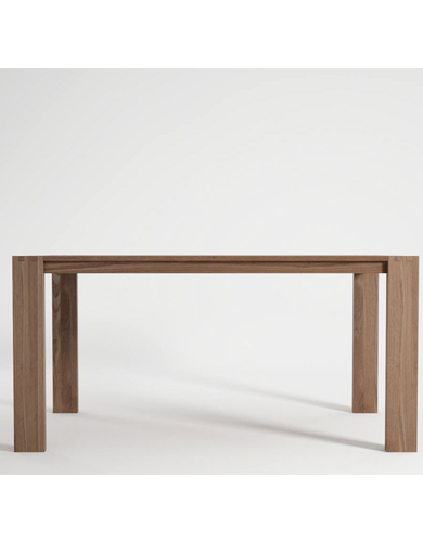 Indoor Teak Wood Dining Tables In Square Oval Shapes In