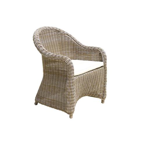 Monaco Dining Arm Chair Round