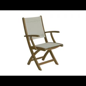 Rivera Folding Arm Chair