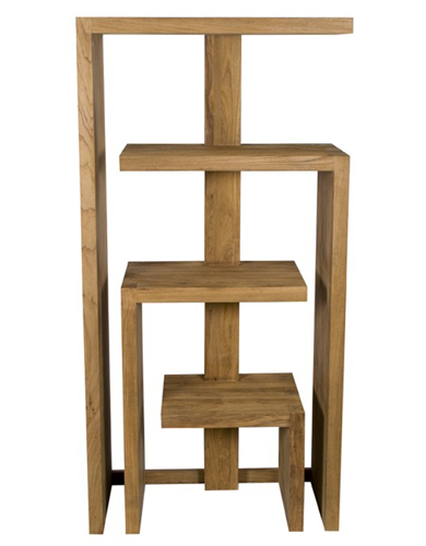 Shami rack with 4 shelves