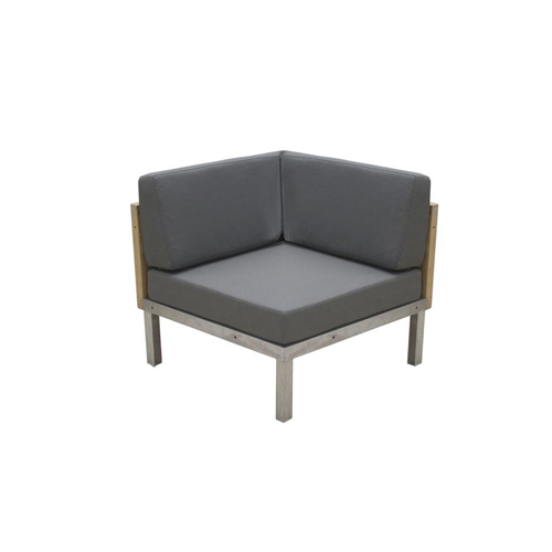 Tessin Modular Corner Seat - Teak Outdoor Furniture