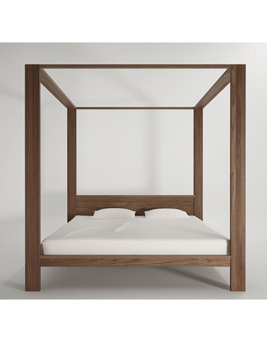Dawson Canopy Queen Size Bed