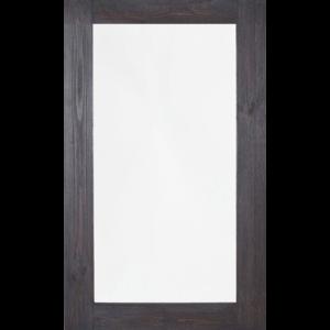 Rustic Dark Timber Mirror