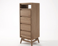 Rhodes Tall Chestboy W / 4 Drawers