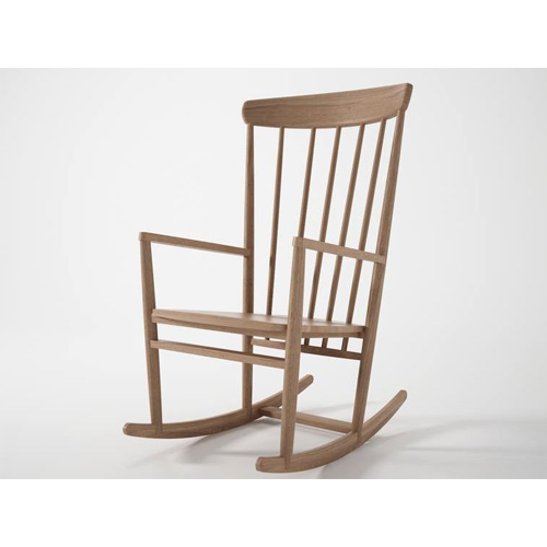 Rhodes Teak Wood Rocking Chair Scade Concepts