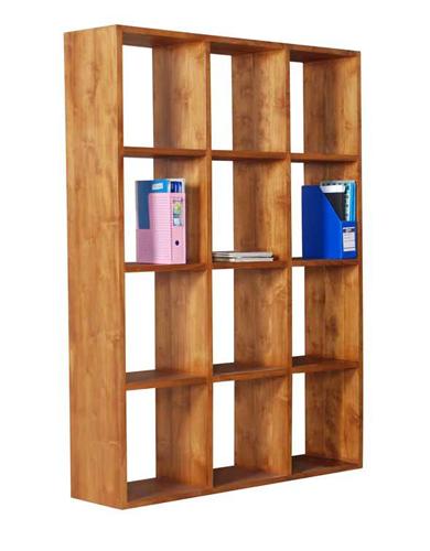 Rhodes Bookshelf- 12 Compartments