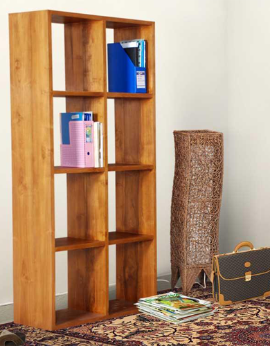 Rhodes Bookshelf - 8 Compartment