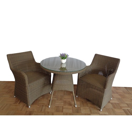 Modern Orchid Round Table
