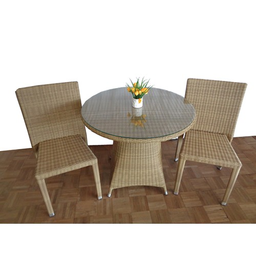 Orchid Round Table and Chair