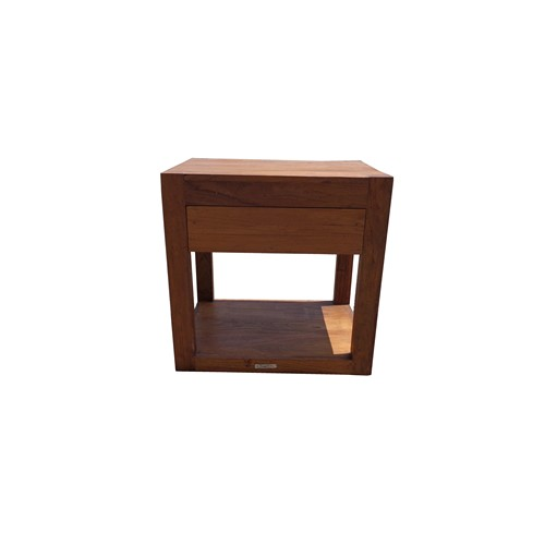 Teak Bedside Table