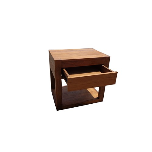 Teak Bedside Table - 2